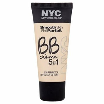 N.Y.C. New York Color BB Creme Foundation, Light, 1 Fluid Ounce