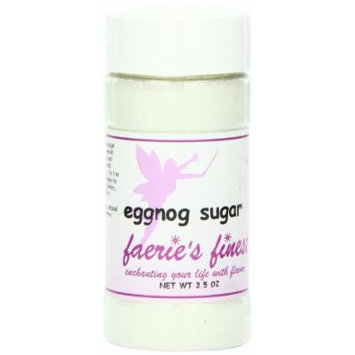 Faeries Finest Sugar, Eggnog, 3.5 Ounce