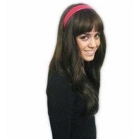 Red Leather Feel Hard Headband