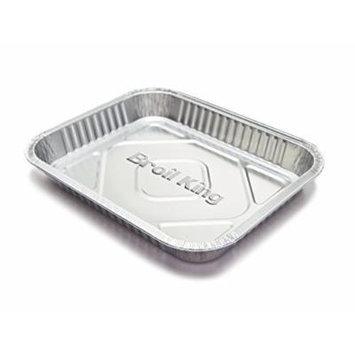 BroilKing 50420 Large Foil Drip Pan (3 Pack)