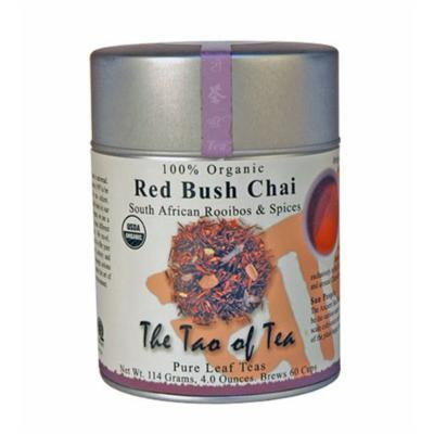 The Tao of Tea, Red Bush Chai Rooibos Tea, Loose Leaf, 4-Ounce Tins (Pack of 3)
