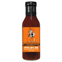 12 Pack OKLAHOMA STATE Cowboys Peach Grilling Sauce 12 oz
