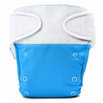 BabyKicks Basic Cloth Diaper Hook and Loop Closure, Azure