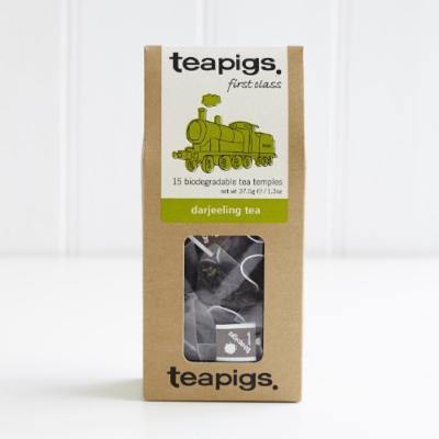 Teapigs Whole Leaf Tea (Darjeeling, 15 temples)