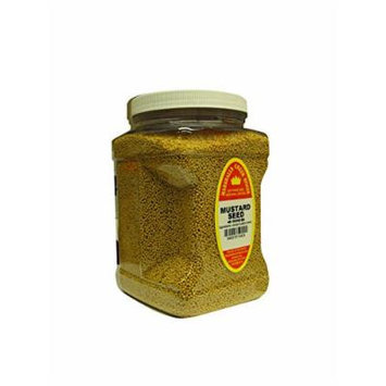 Marshalls Creek Spices Family Size Mustard Seed Whole Seasoning, 48 Count