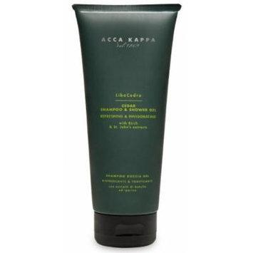 Acca Kappa C SPORT Shampoo & Shower Gel 6.7oz