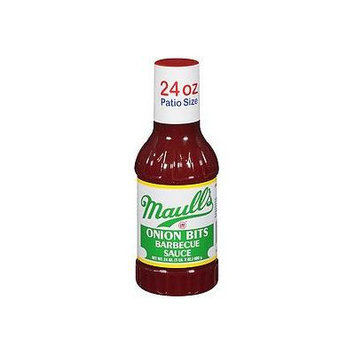Maull's Sauce Barbecue Onion Bites, 24 fz (Pack of 12)