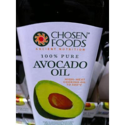 Chosen Foods 100% Avacado Cooking Oil - 1ltr Bottle (33.8fl) (6 Bottles)