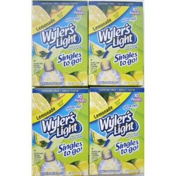 Wyler's Light Lemonade Singles To Go - 4 Boxes