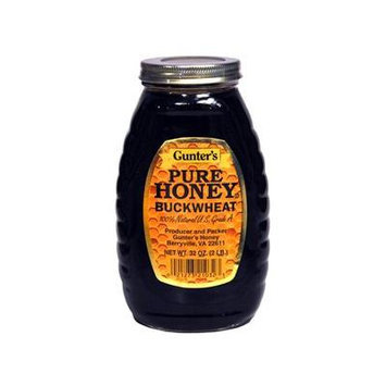 Gunter's Pure Buckwheat Honey, 2 lb