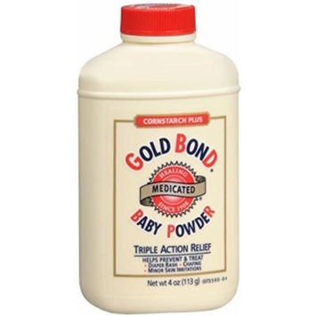 Gold Bond Cornstarch Plus Baby Powder, 3 Count