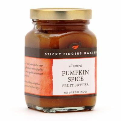 Sticky Fingers Pumpkin Spice Fruit Butter 8.2 Oz.