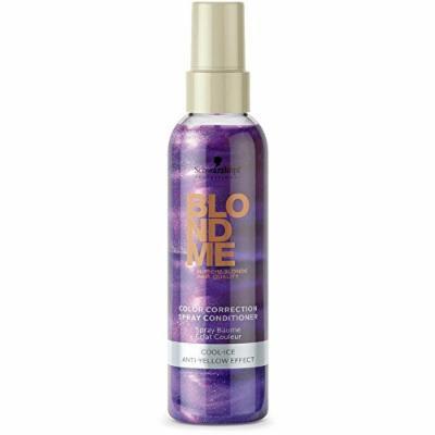Schwarzkopf BlondMe Blonde Color Correction Spray Conditioner - Cool Ice 5.07oz