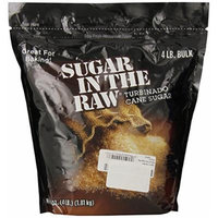 Sugar in The Raw Natural Cane Sugar Bag, 4 Pound