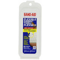 Band-aid Flexible Fabric By Johnson & Johnson 8 in a Box Travel Packs (Pack of 12) 96 Total