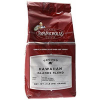 PapaNicholas Coffee Ground Coffee, Hawaiian Islands Blend, 2 Pound