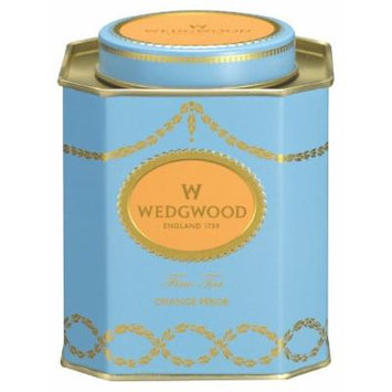 Wedgwood Everyday Luxury Orange Pekoe Caddy, 125g, Blue