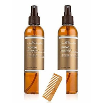 Carol's Daughter Repairing Leave-In Conditioner Refresher Spray ~ Monoi Duo PLUS Wooden Comb