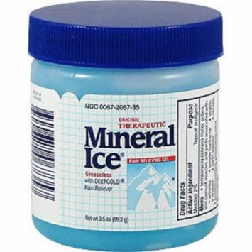 Mineral Ice Pain Relieving Gel 3.5 oz (4 Pack)