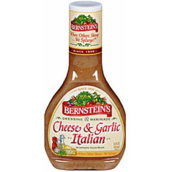 Bernstein's Cheese and Garlic Italian Dressing, 14-Ounce (Pack of 3)