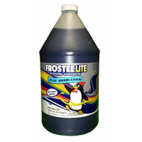 Frostee Lite Snow Cone Syrup, Blue Bubblegum, 128 Ounce (pack of 4)