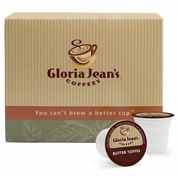 Gloria Jean's Coffees Butter Toffee 48 K-Cups for Keurig Brewers