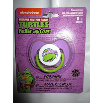 Teenage Mutant Ninja Turtles Donatello Baby Pacifier with Cover