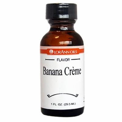 LorAnn Oils Flavorings and Essential Oils, Banana Cream, 1 Ounce (Pack of 6)