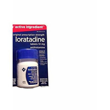 Member's Mark Non Drowsy Loratadine 10 mg Antihistamine 24 Hour Allergy Relief (1 bottle (200 tablets))