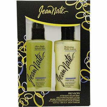 NEW Revlon Jean Nate After Bath Splash Mist & Hydrating Body Lotion Boxed Gift