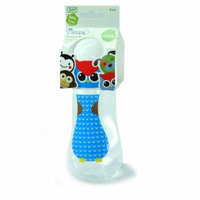 New Pureen Skittle Baby Feeding Bottle BPA Free 8 oz with nipple size M for 3 months+ (Owl)