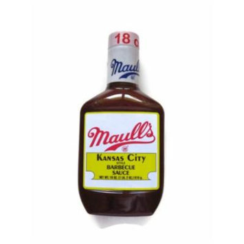 Maull's KC Style BBQ Sauce, 18 oz (Pack of 12)