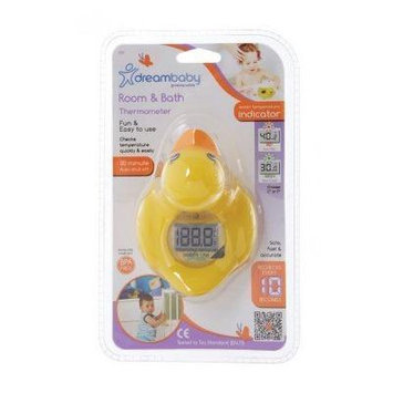 Dreambaby Room / Baby Bath Tub Thermometer - Duck