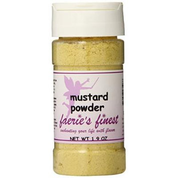 Faeries Finest Ground Mustard, 1.90 Ounce