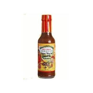 Walkerswood Hot & Spicy Jamaican Las' Lick Jerk Sauce (Pack of 12)