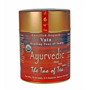The Tao of Tea Ayurvedic Tea Vata, Certified Organic, 2.5-Ounce Tins (Pack of 3)
