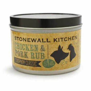 Stonewall Kitchen Chicken and Pork Spice Rub, 4 Ounce