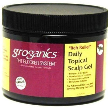 Groganics Dht Daily Topical Scalp Gel 6oz Jar (1 Pack)
