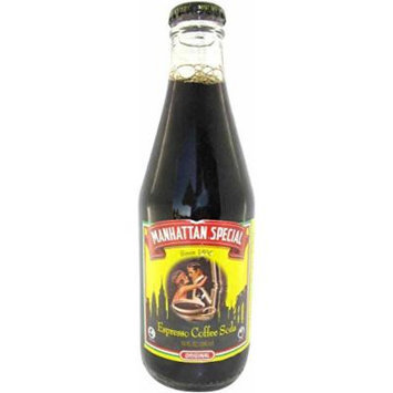 Manhattan Special Espresso Soda From Brooklyn 10-Ounce Glass Bottles (Pack of 12)