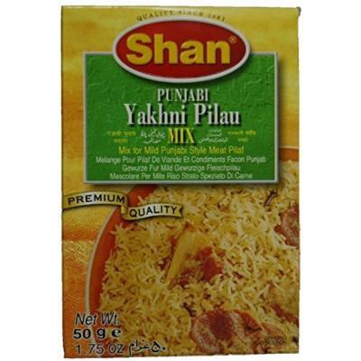 Shan Punjabi Yakhni Pilau Spice Mix - 6 Pack (1.75 Oz. Ea.)