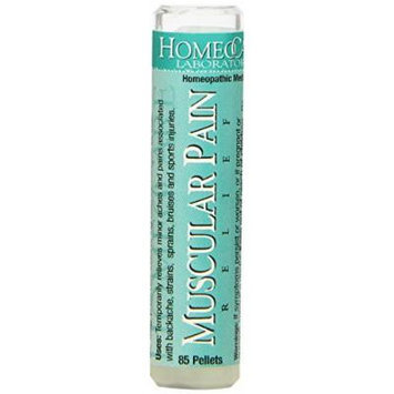 Homeocare Labs Muscular Pain Relief, 85-Count Tubes (Pack of 2)