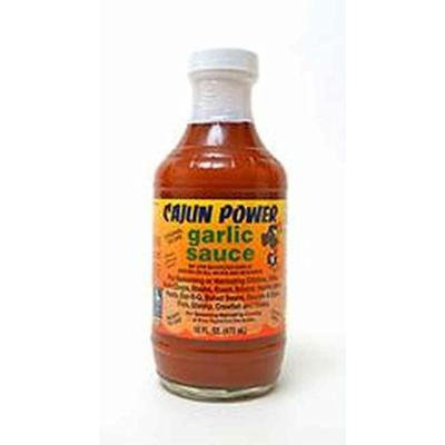 Cajun Power Garlic Sauce Original Recipe, 16 Oz (Pack of 2)