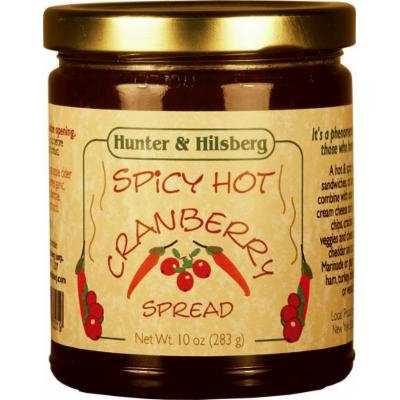 Hunter & Hilsberg Spicy Hot Cranberry Spread, 10 Ounce