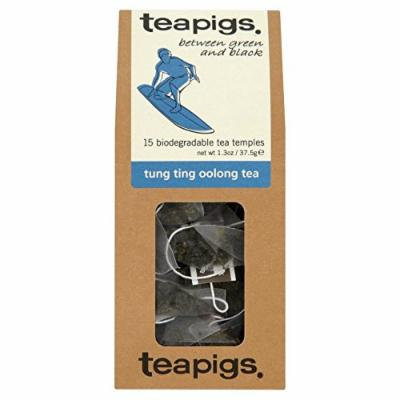 teapigs Tung Ting Oolong Tea Temples, 15 Count