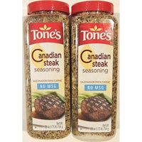 Tone's Canadian Steak Seasoning 28 Ounce Shaker (Pack of 2)