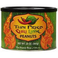 The Peanut Shop of Williamsburg Thai Fried Chili Lime Peanuts, 20 Ounce