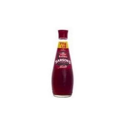 Sarsons Malt Vinegar, 300 Milliliter -- 12 per case.