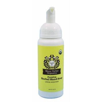 Moon Valley Organics - Foaming Herbal Hand Soap Lemon Rosemary - 10.7 oz.