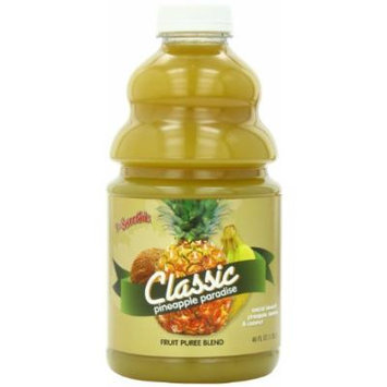 Dr. Smoothie Pineapple Paradise Classic Blend Smoothie Bottles, 46-Ounce