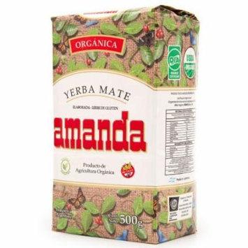 Amanda Organic Loose Leaf Yerba Mate 1/2 Kilo
